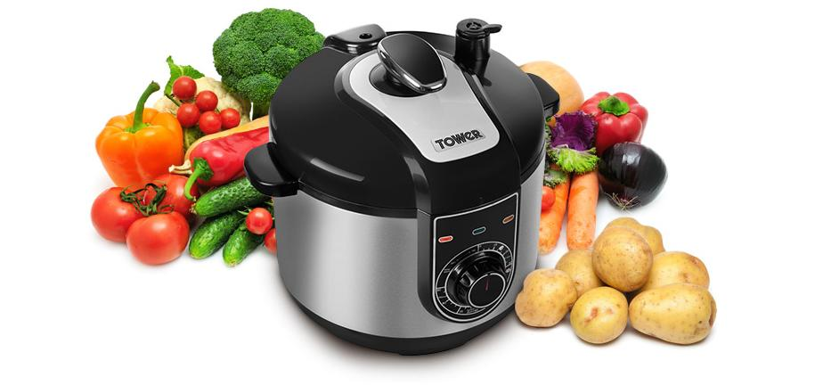 Are Friends Electric? Getting to Grips with the Tower 5 Litre Electric Multi-Function Pressure Cooker