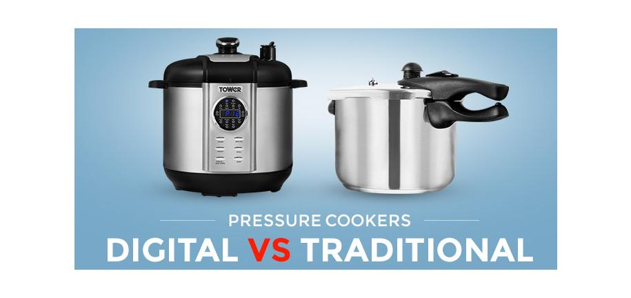 Digital vs.Traditional Pressure Cookers: What's The Difference?